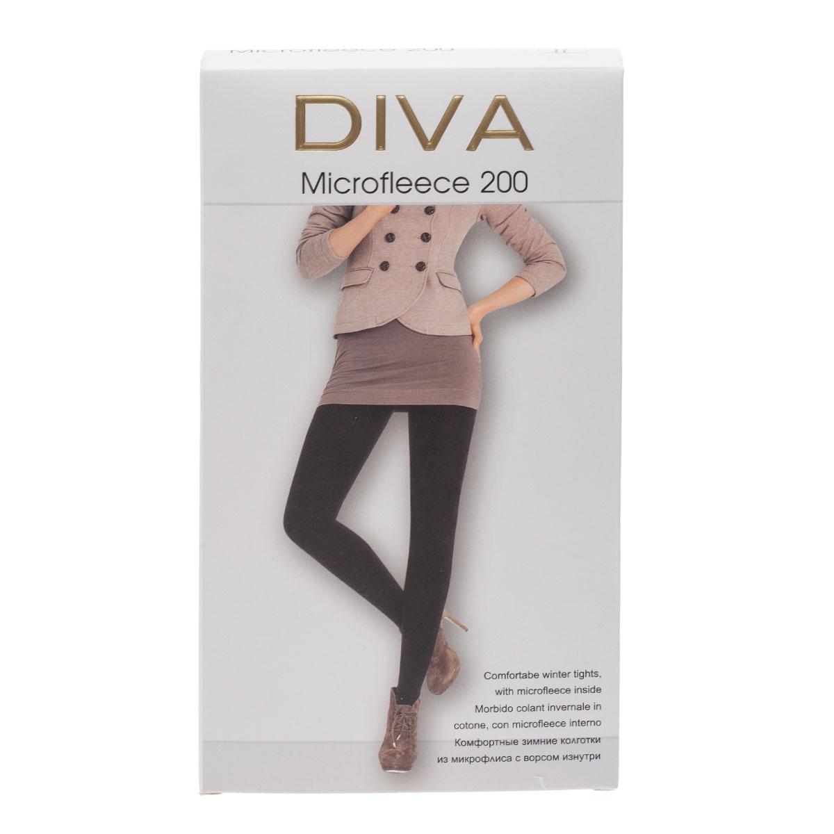 Колготки DIVA Microfleece 200, 2