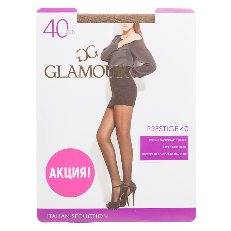 Колготки GLAMOUR, Prestige 40 daino колготки glamour prestige 2 40 den черный