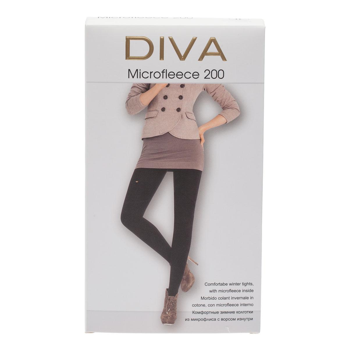 Колготки DIVA Microfleece 200, 4 видеорегистратор slimtec g5