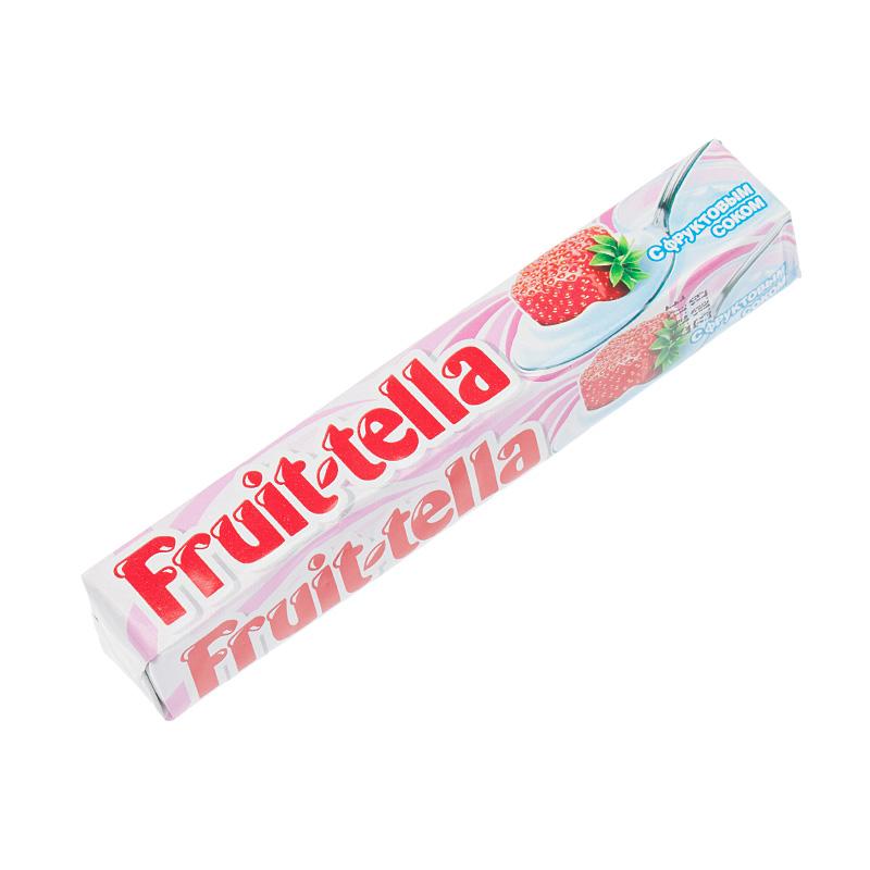 Конфета жевательная Fruit-tella