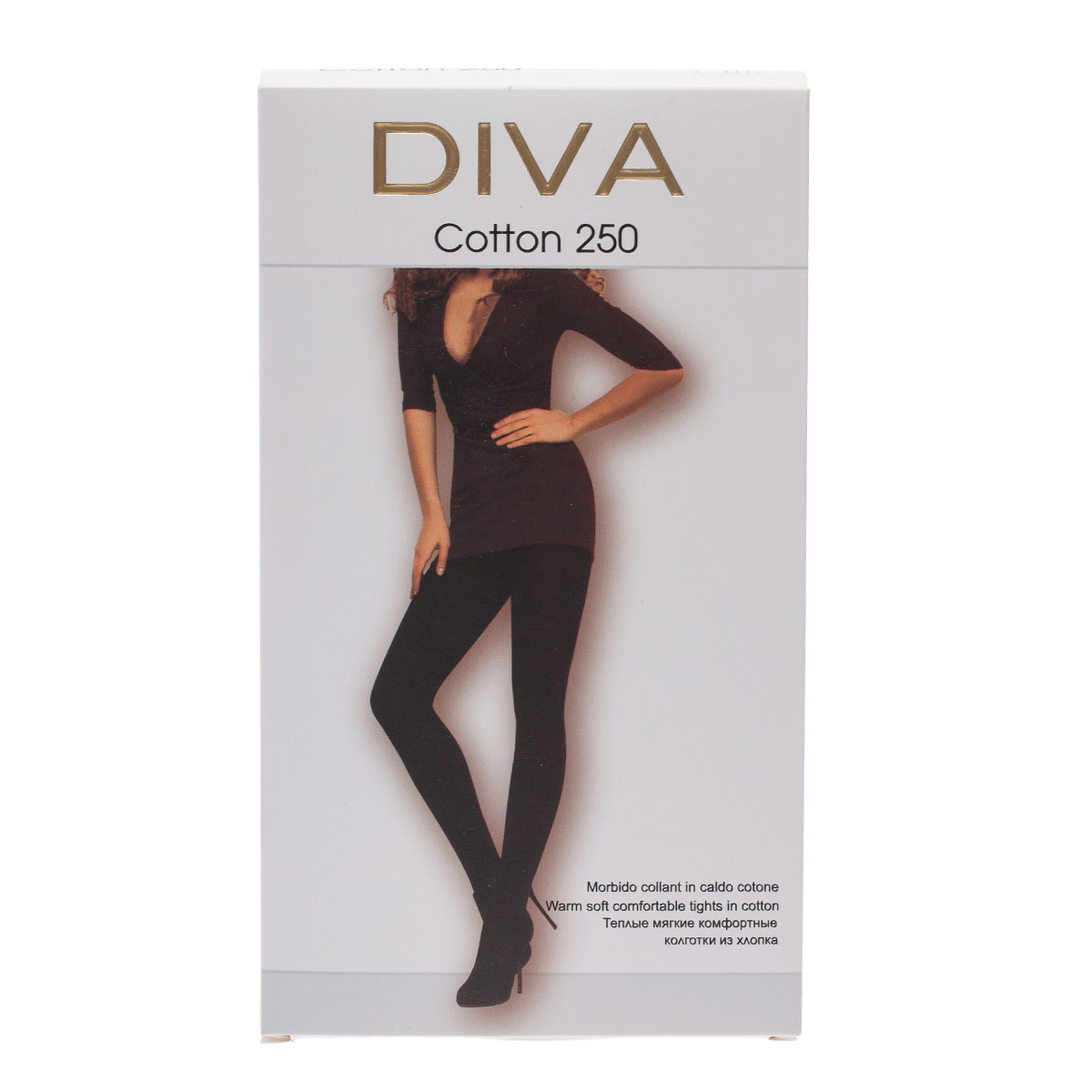 Колготки DIVA Cotton250, 3
