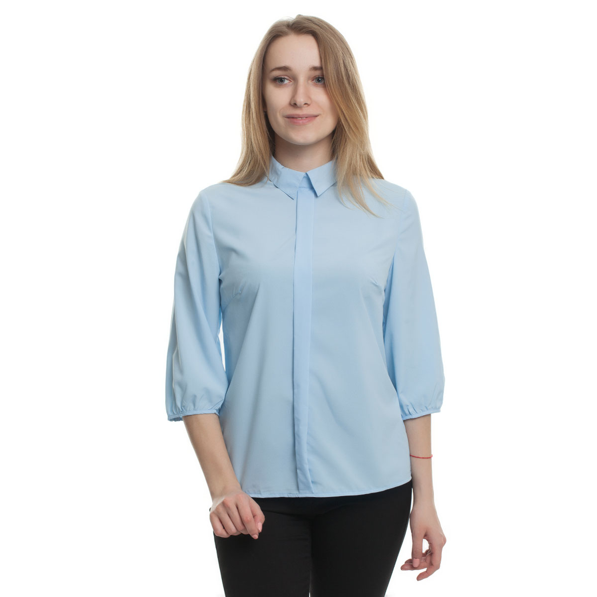 Фото - Блузка Sevenext, 262 блузка женская oodji collection цвет светло зеленый белый 21412132 2b 24681 6010g размер 44 170 50 170