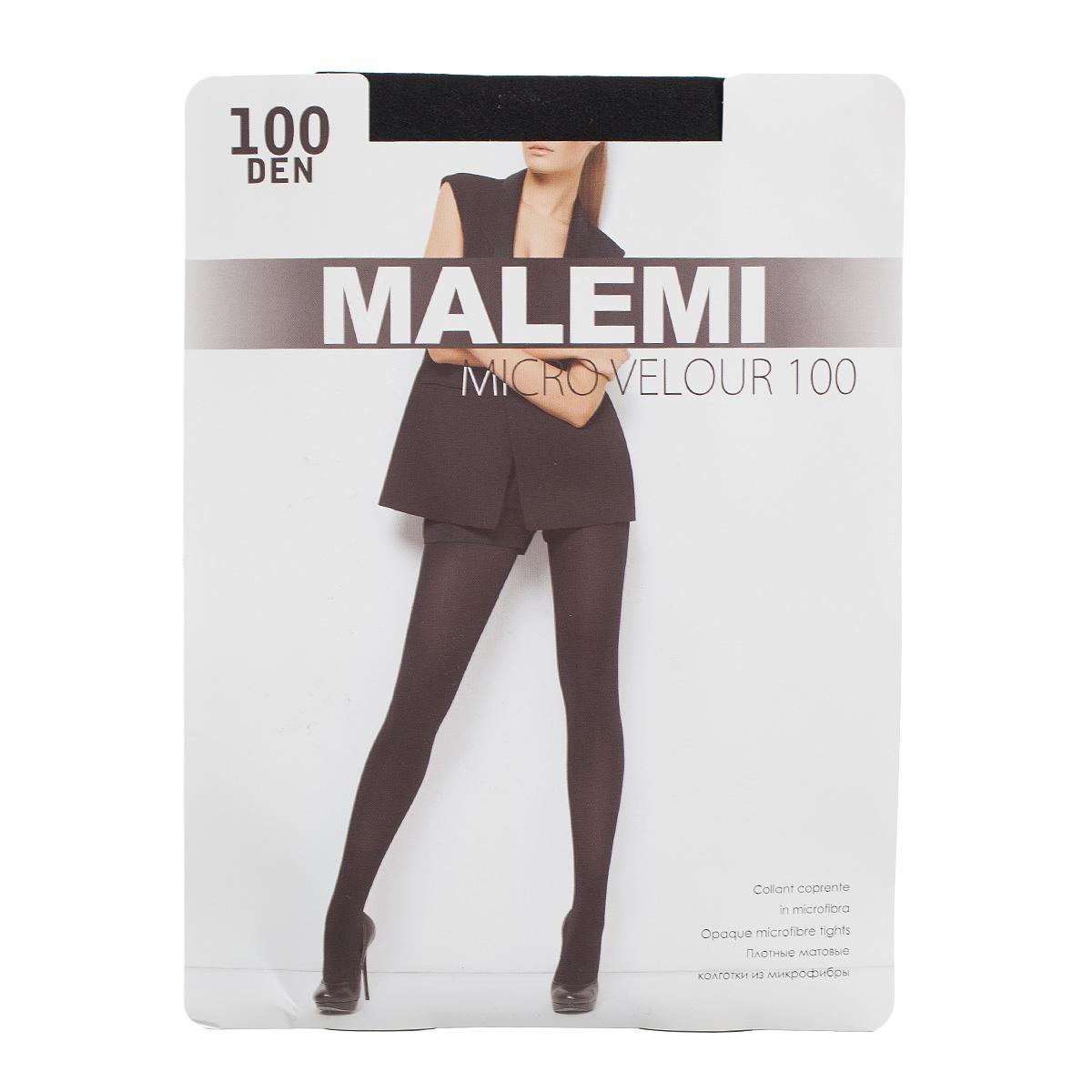 Колготки MALEMI Micro Velour 100 nero