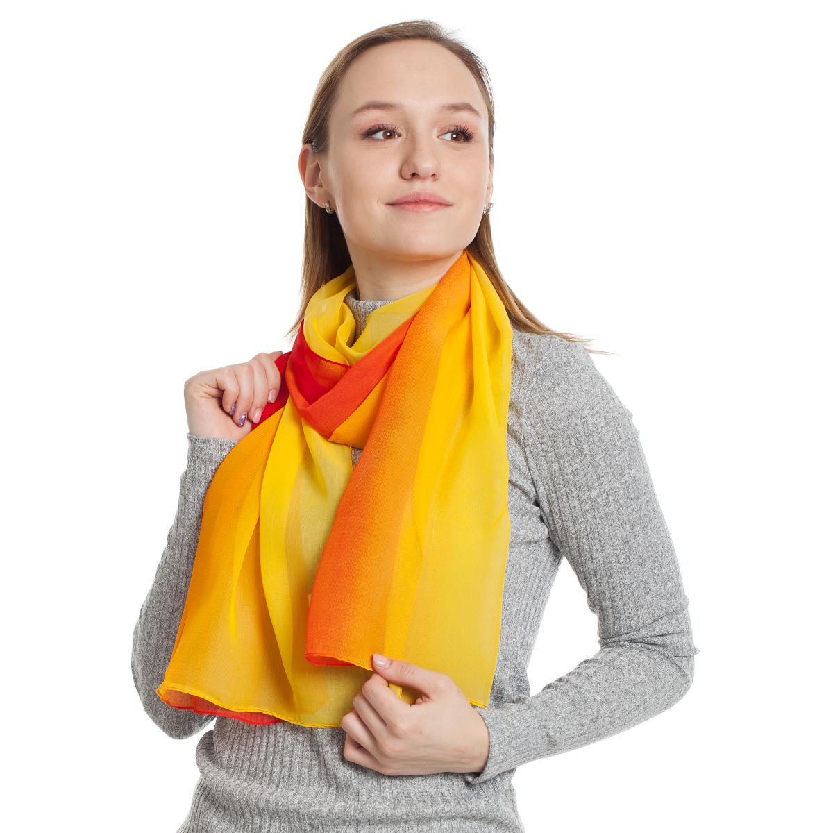 Шарф Sevenext, 46489-20 Red 50x160 шарф sevenext 46881 7