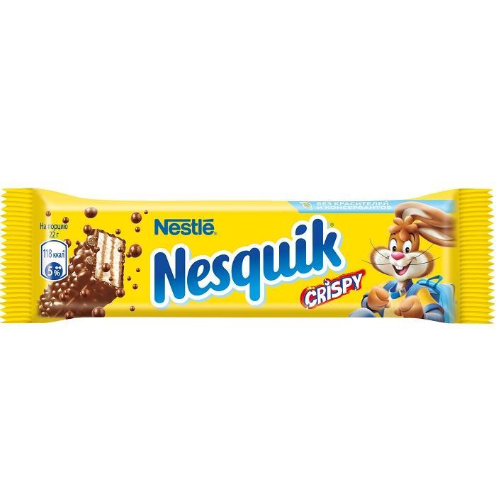 Батончик Nesquik Crispy