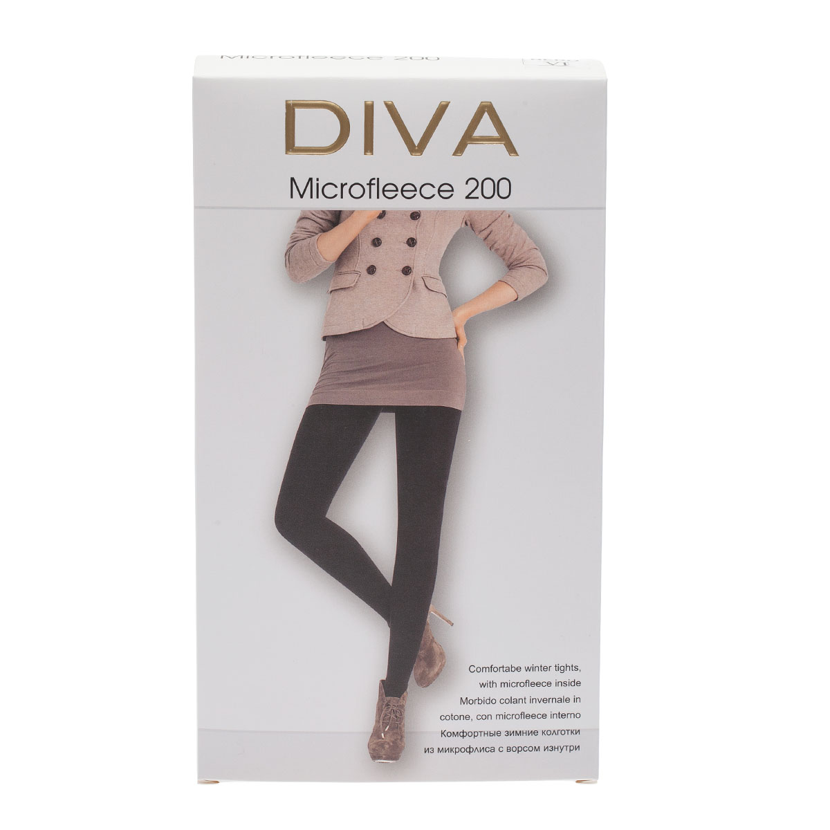 Колготки DIVA Microfleece 200, 6