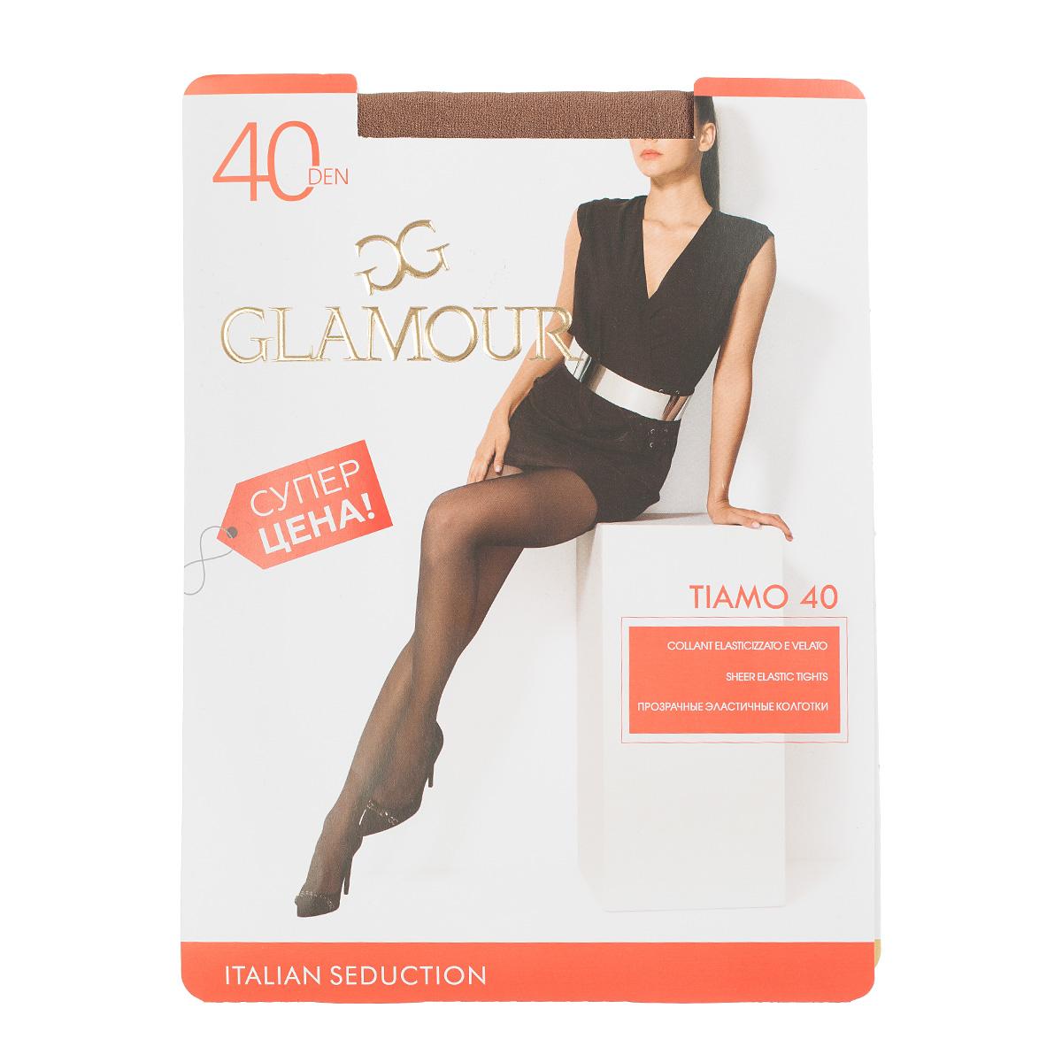 Колготки GLAMOUR, TIAMO 40 Daino