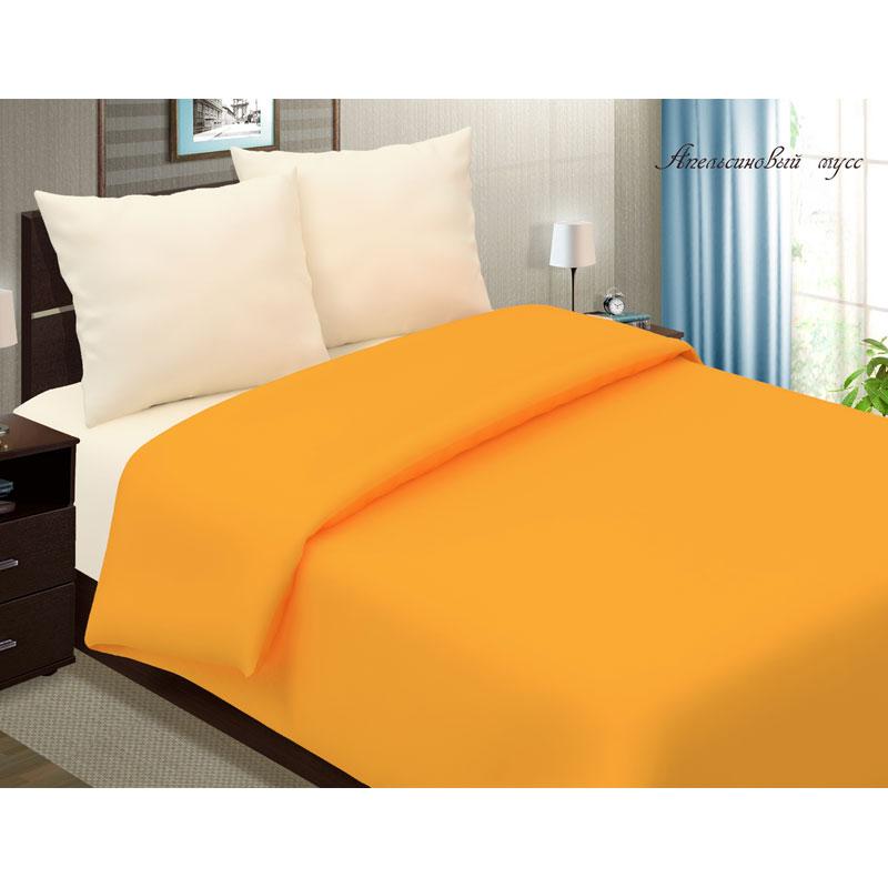 1,5 спальное постельное белье, Апельсин мусс