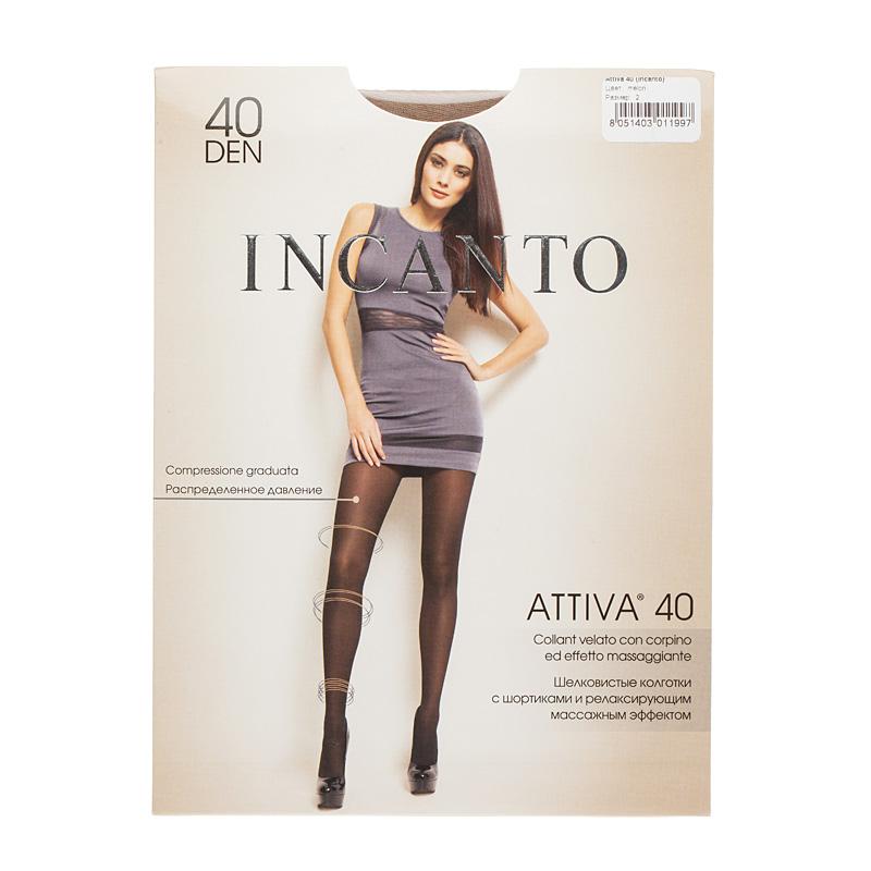 Колготки INCANTO, Attiva 40 колготки omsa attiva 40 nero черные размер 5