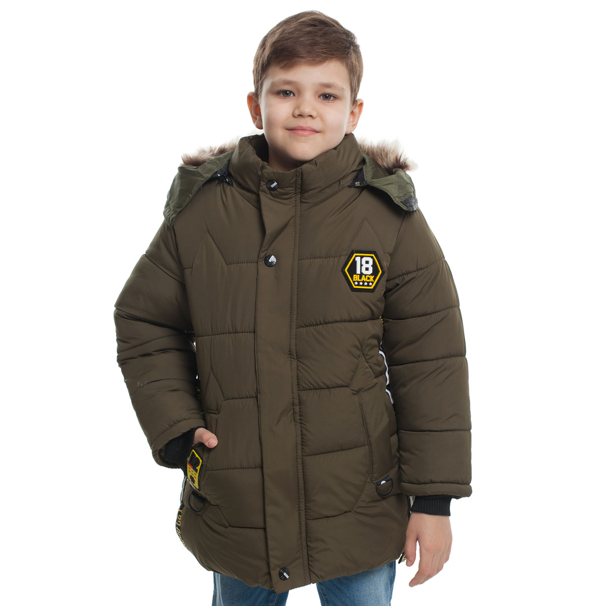 Куртка утепленная Black18