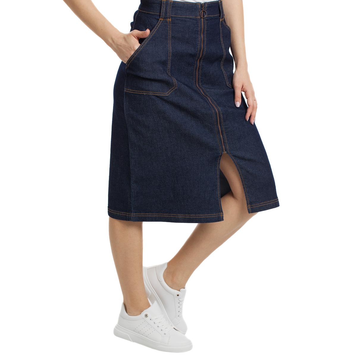 Юбка джинсовая Sevenext, W-184