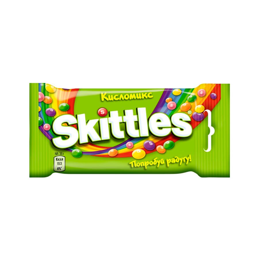 Драже Skittles Кисломикс, 38г