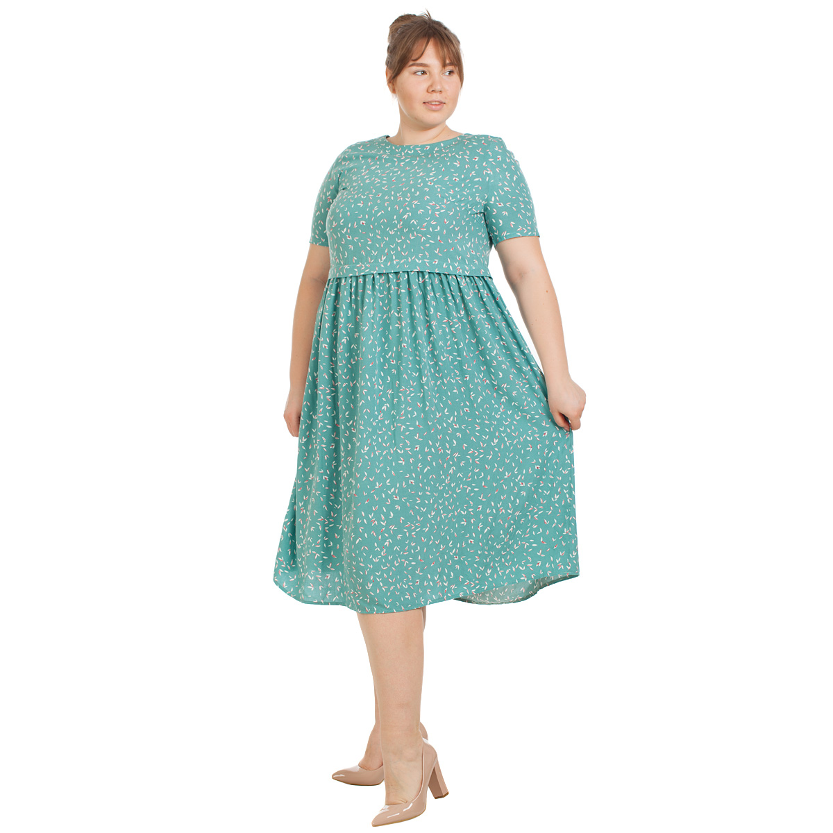 Платье Glavmod, JA17 платье oodji ultra цвет красный белый 14001071 13 46148 4512s размер xs 42 170