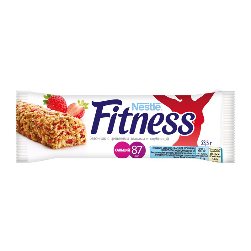 Батончик Nestle FITNESS (клубника)