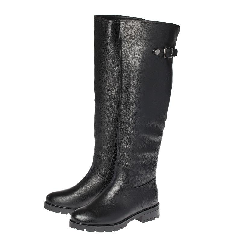 Сапоги кожаные, IM NZ84-01 сапоги кожаные leging