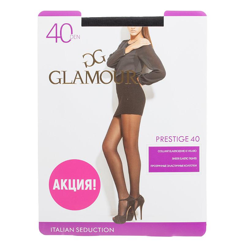 Колготки GLAMOUR, Prestige 40 nero колготки glamour prestige 40 daino