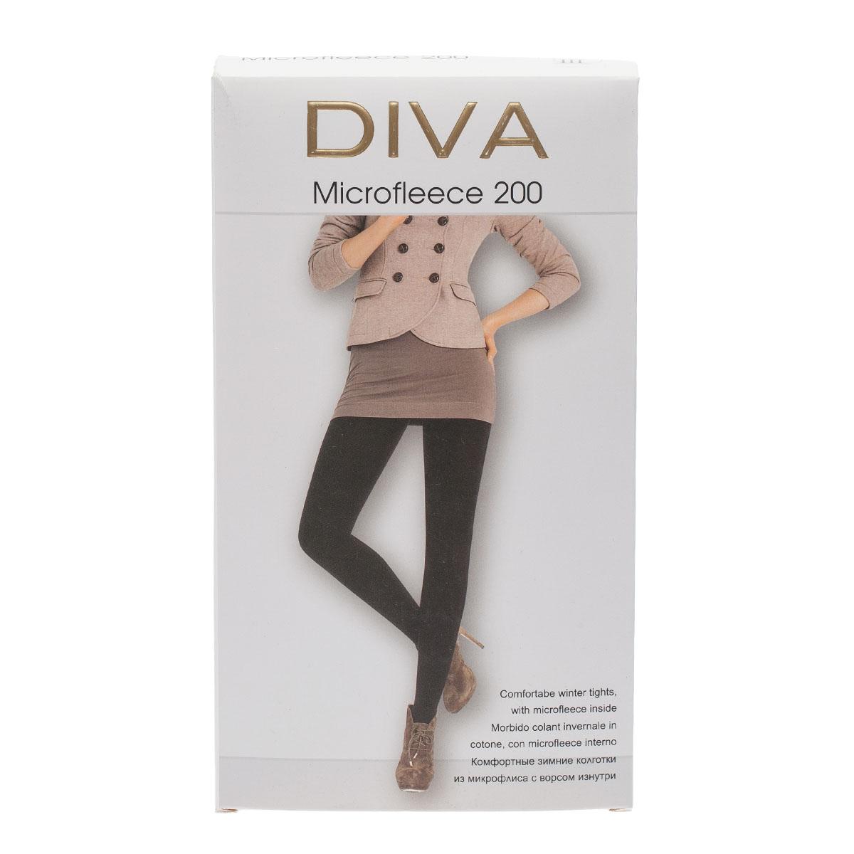Колготки DIVA Microfleece 200, 3
