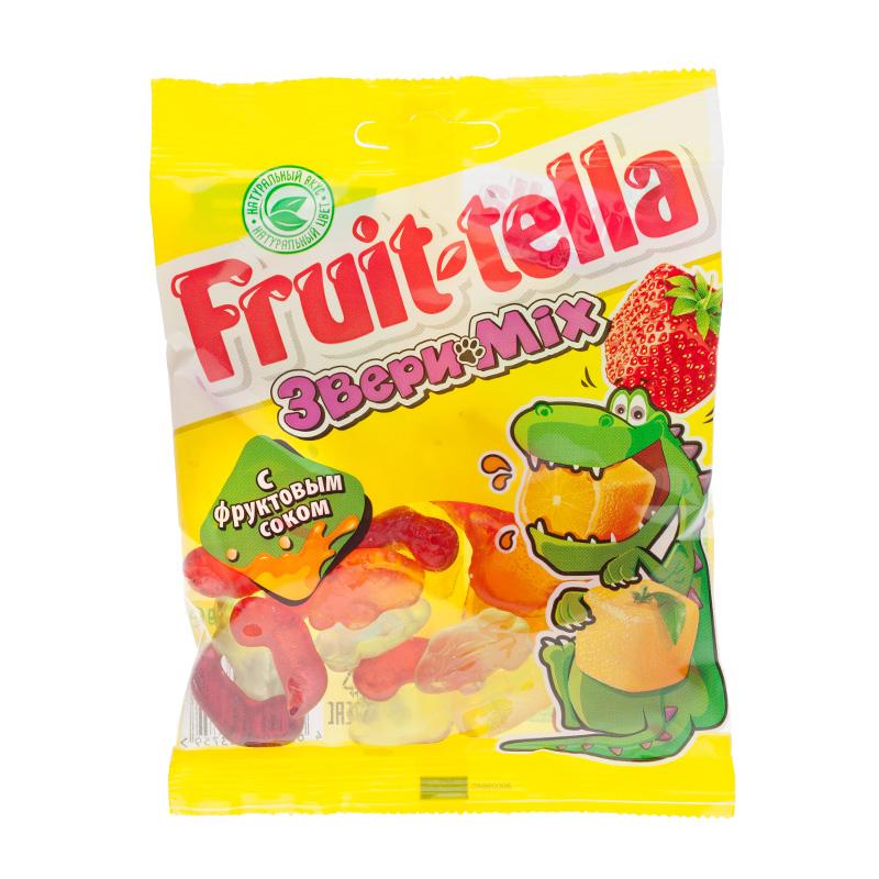 купить Мармелад жевательный Fruit-tella по цене 49 рублей