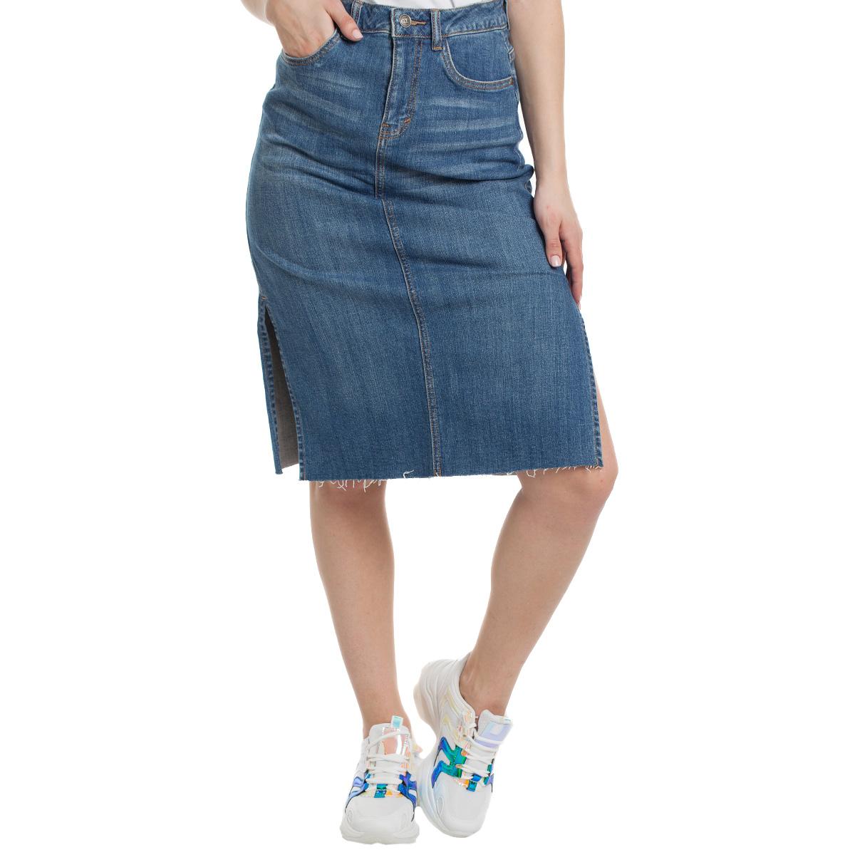 Юбка джинсовая Sevenext, PT011
