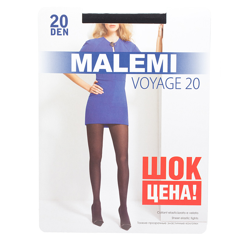 Колготки MALEMI Voyage 20 nero колготки malemi voyage 20 nero