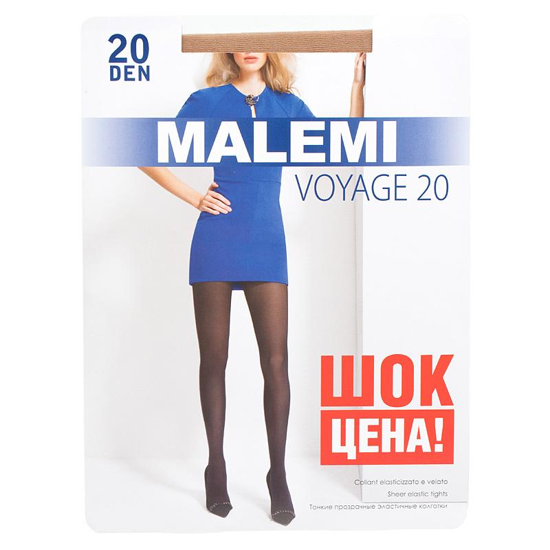 Колготки MALEMI Voyage 20 melon