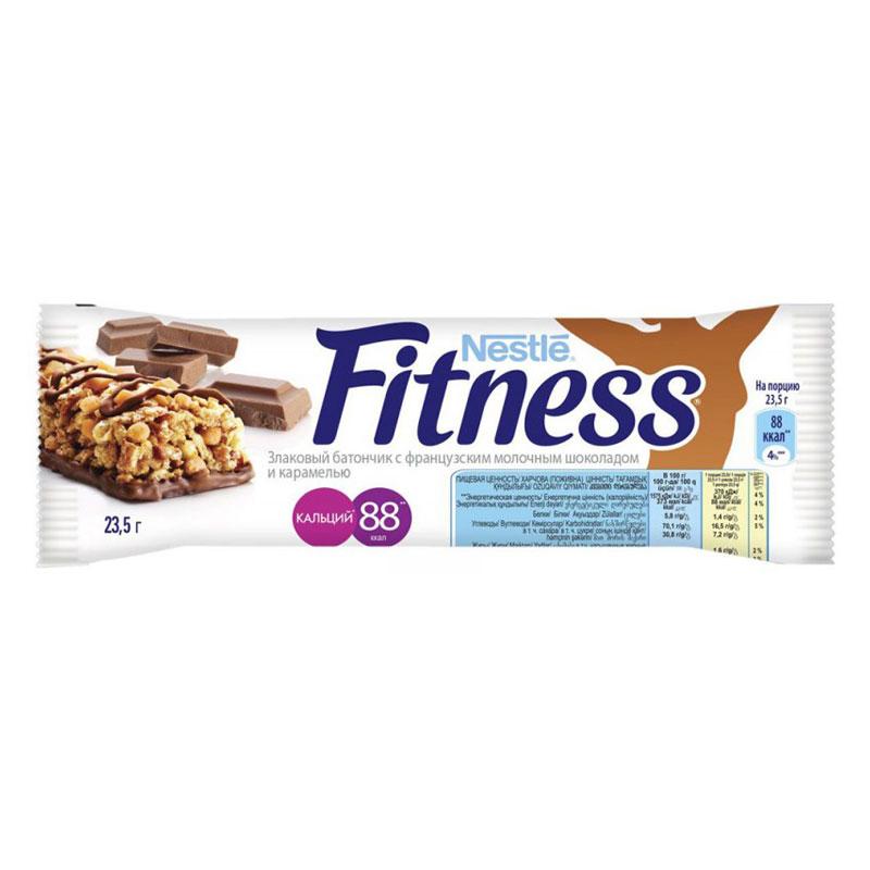 Батончик Nestle FITNESS (шоколад, карамель)