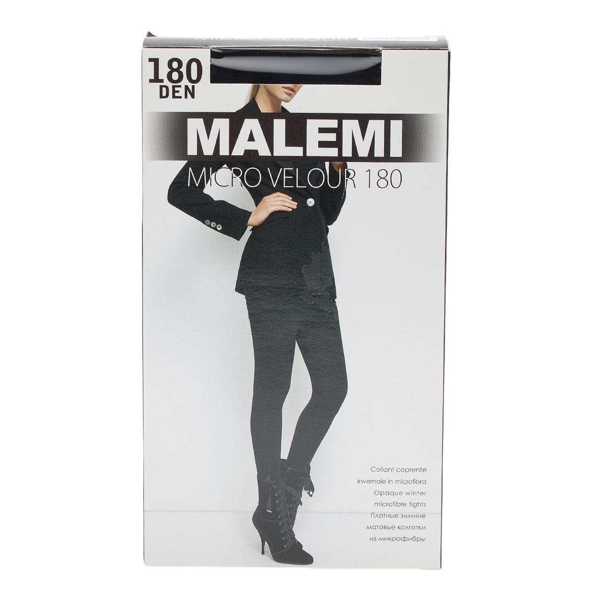 Колготки MALEMI, MicroVelour180