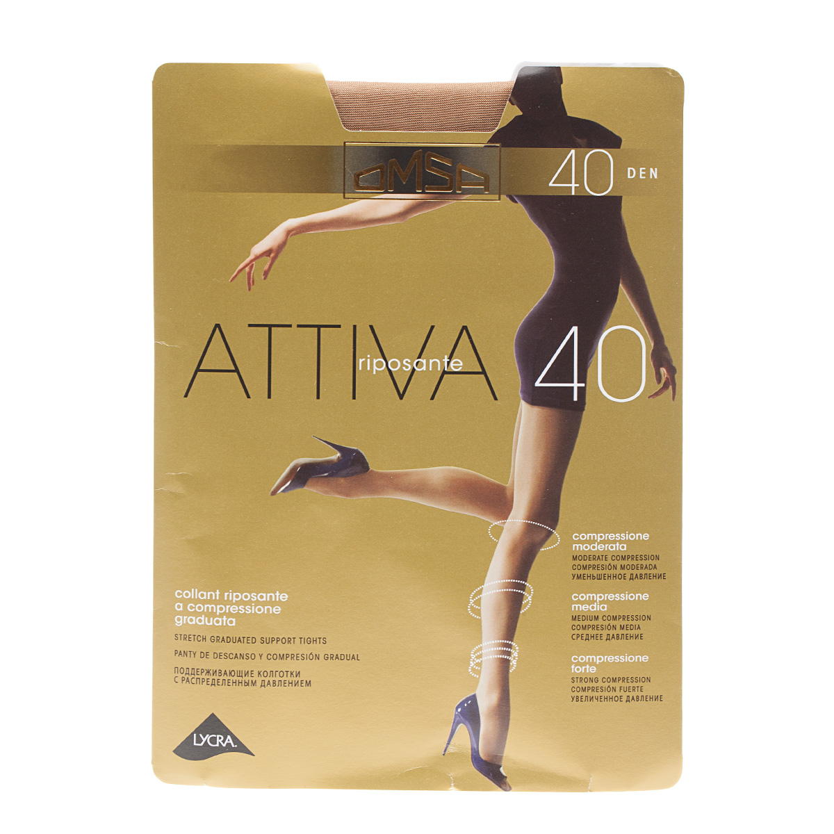 Колготки Omsа, Attiva 40d