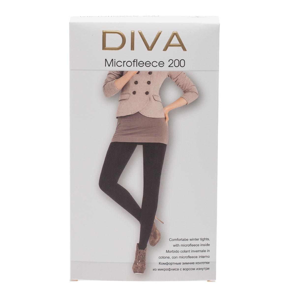 Колготки DIVA Microfleece 200, 5