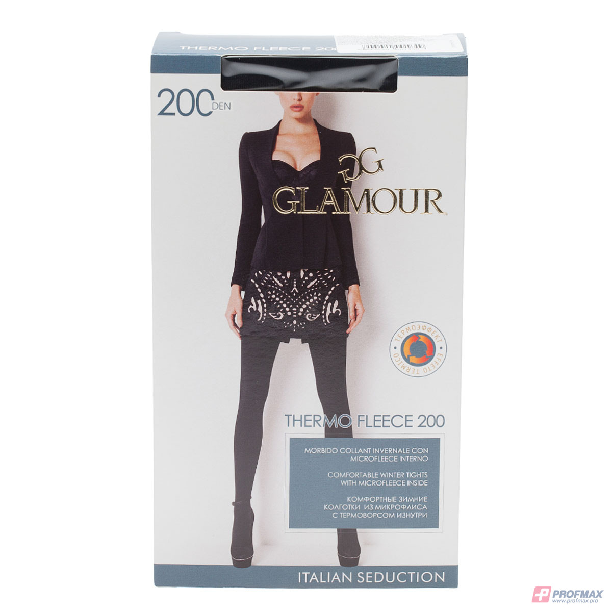 Колготки GLAMOUR, ThermoFleece200ner